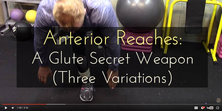 """Anterior Reaches as a glute secret weapon: It's about nuance and subtlety, not just """"more resistance""""!"""